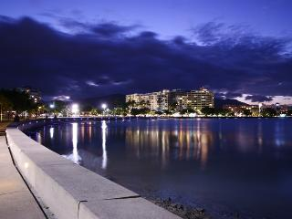 Cairns Esplanade by night