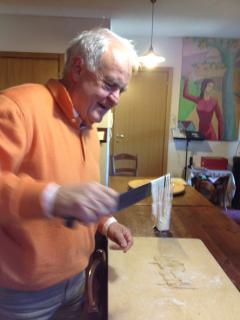 impariamo a fare la pasta con Roberto