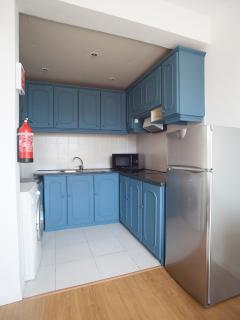The kitchen, which is fully equiped.