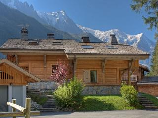 Chalet Rimaye - Chamonix. View of Mt Blanc in summer