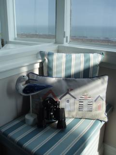Lovely window seat - relax and enjoy the view!
