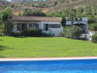 View of the finca from the swimming pool