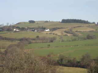 Lower Farm from Mucklewick Hill