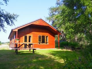 Plodda lodge at Lochletter Lodges