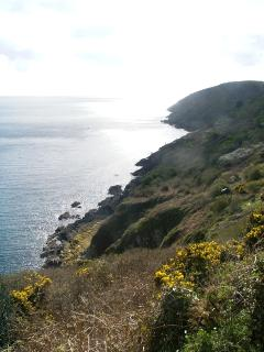 Easy access to the south west coast path