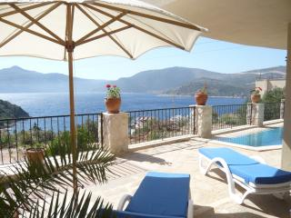 Your Panoramic views of Kalkan Bay, with the sea just a short stroll away!