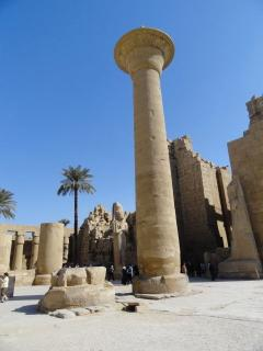 Luxor is a 3 hour drive away, I can recommend taxi, best to stay over night as lots to see.