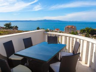 Our stunning panorama sea view (view on the islands of Brac and Hvar)