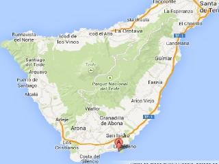 Very close to Tenerife South Airport