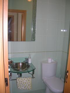 Aseo con placa ducha