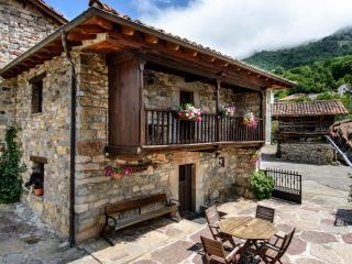 Fachada de la casa El Coto