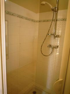 La salle d'eau (douche) de la chambre Sud