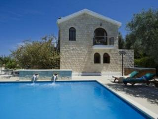 Luxury seaview villa with pool,beach in Argaka (T)