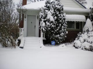 Front in winter