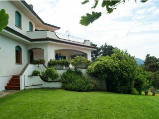 The villa and its terrace and porch