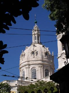 Basilica da Estrela, at the end of our street