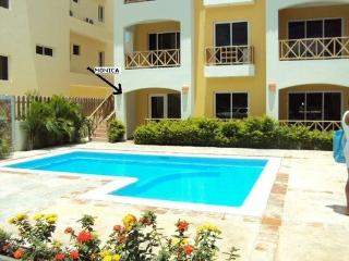 DOMINICUS, NICE STUDIO WITH POOLSIDE PATIO- MONICA