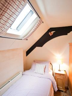 All bedrooms feature original feature timber beams and period pine furniture with modern heating!