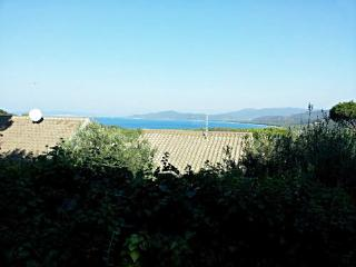 Tuscany panoramic seaside villa up to 8 guests, Punta Ala