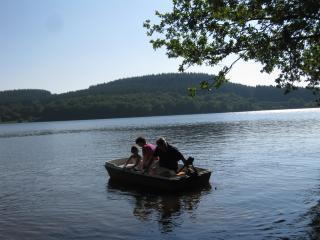Promenade en barque sur le Lac