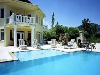 Private pool with shallow area Great to place sunbed in shallow end on hot days