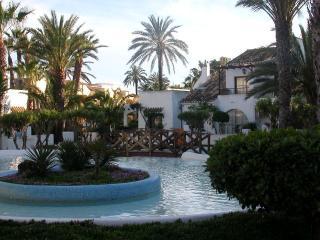 Bajo con jardin junto a playa, Roquetas de Mar