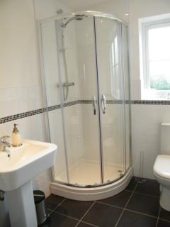 First Floor - Family Bathroom - Bath, Shower, Sink, w.c.