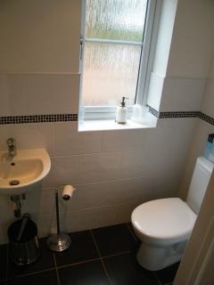Ground Floor - Bathroom - Shower, sink, w.c.