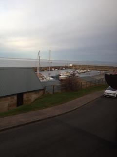 view of the Harbour from upstairs bedrooms