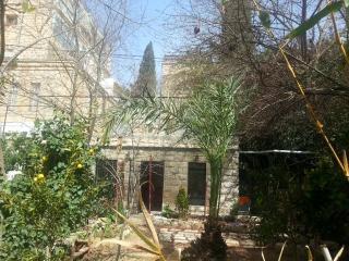 Charming garden apt in TALBIYA, Jerusalem