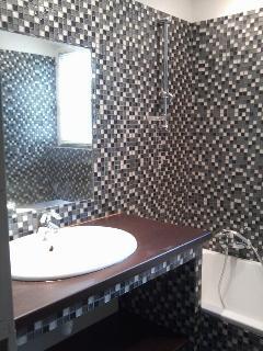 salle de bains rez de jardin