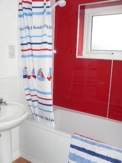 Bathroom (bath and shower)