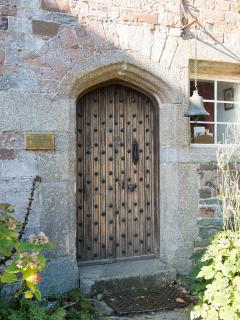 Ebbingford Manor's front door
