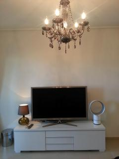 Samsung 51' 3d TV,  cinema surround with sub woofer, Blue Ray player & Playstation 3