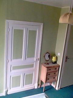 Master Bedroom Holding 2 People With Cot if Required, Views over Courtyard and Countryside Beyond