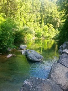 Gorgas Sant Privat, rio cerca, más o menos 5 km.. River nearby, more or less 5km.