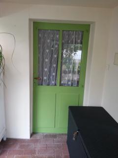 porte d entrée de l'appartement