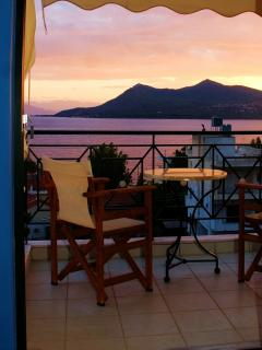 Sunset as seen from one of our superior rooms