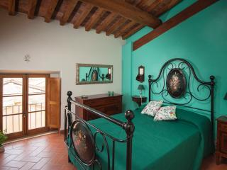 B&B Antico Granaione Mint bedroom, Rapolano Terme