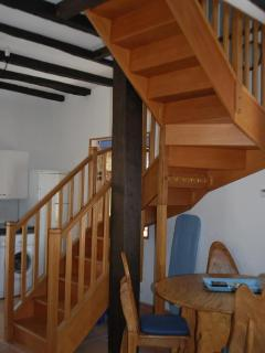 One-Bedroom Gite Stairs