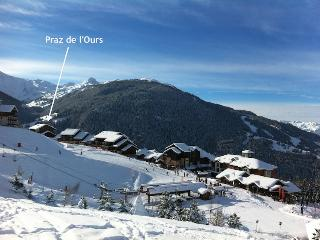 Ski in Ski out family holidays at the Praz de l'Ours in Vallandry