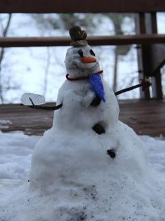 Snowman fun!