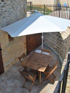 One-Bedroom Gite Patio