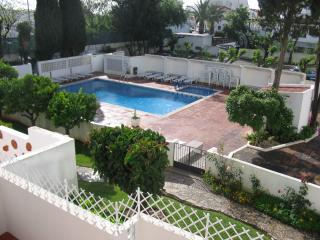 Enclosed pool (view from apartment)