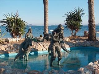 Fishermen Statue Los Alcazares