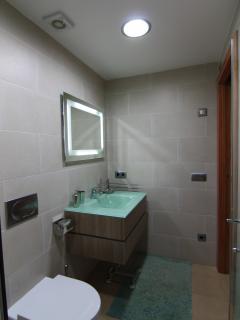 Baño, desde la ducha.
