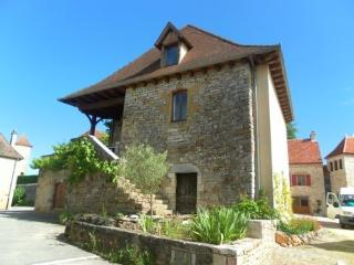 Maison de Roland à Loubressac