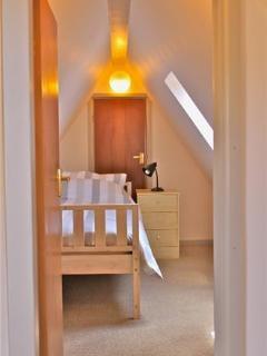 Upstairs single bedroom #1