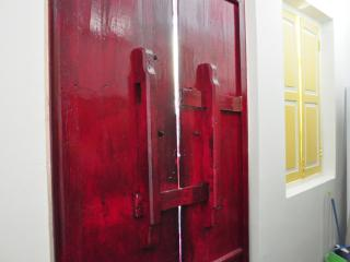 Old Chinese wooden doors for the front door