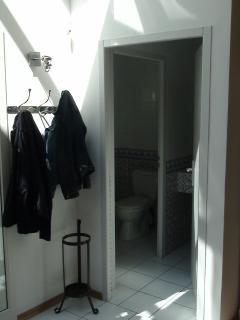 WC séparé pour le rez de chaussée
